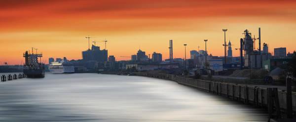 Photograph - Port Of Hamburg by Marc Huebner