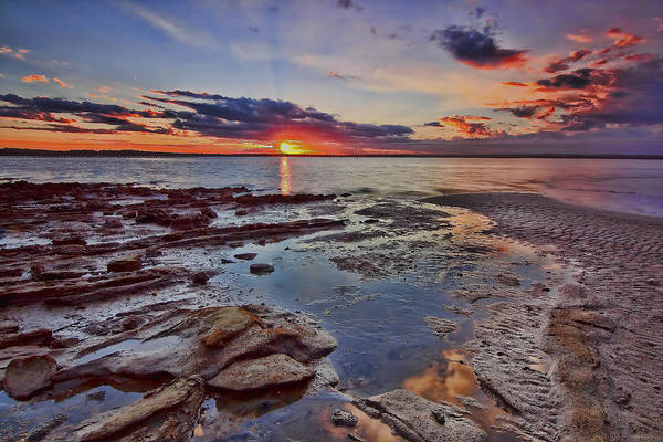 Port Stephens Sunset Art Print