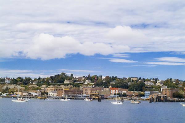 Port Townsend Photograph - Port Townsend On Puget Sound  by Patrick M Lynch