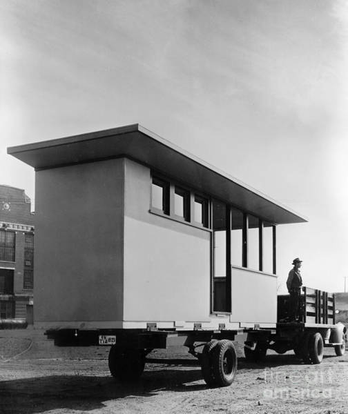 Photograph - Portable Housing, C1938 by Granger