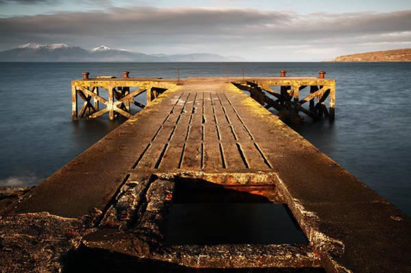 Photograph - Portencross Pier by Grant Glendinning