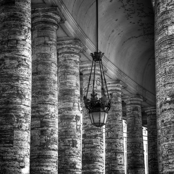 Colonnade Photograph - Portico by Joana Kruse