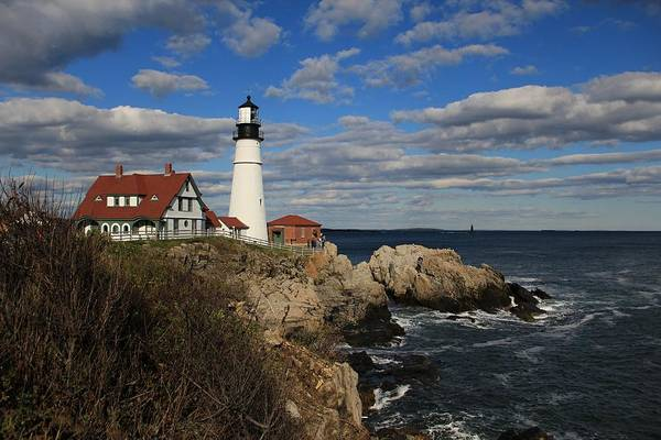 Photograph - Portland Head Light  by Jeremy McKay