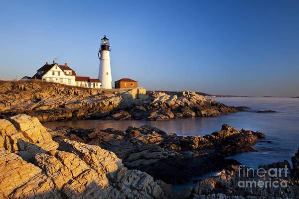 Wall Art - Photograph - Portland Head Lighthouse by Brian Jannsen