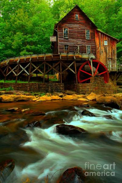 Photograph - Portrait Of A Grist Mill by Adam Jewell