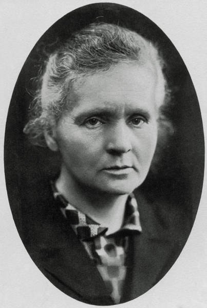 Wall Art - Photograph - Portrait Of Marie Curie by National Library Of Medicine