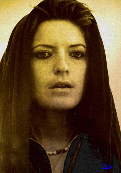 Photograph - Portrait Under A Huge Life Transformation by Colette V Hera  Guggenheim