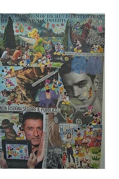 Capitalism Mixed Media - Post 1968 Host Ghost by Francesco Martin