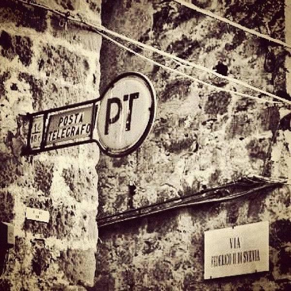 Wall Art - Photograph - Poste E Telegrafi, Casertavecchia by Gianluca Sommella