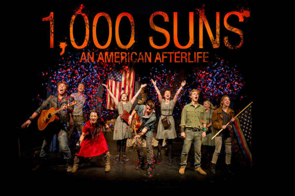 Photograph - Poster For 1000 Suns - An American Afterlife by Gary Eason