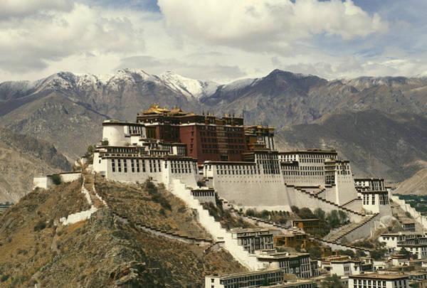 Dalai Lama Wall Art - Photograph - Potala Palace by Martin Gray