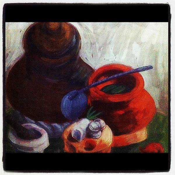 Wall Art - Photograph - Pots And Spoon by Just Princess