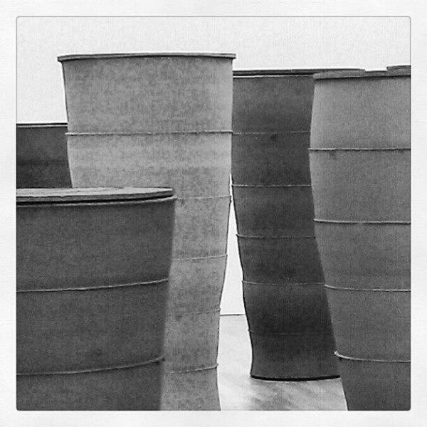 Death Wall Art - Photograph - #pottery #exhibition At #mima by Chris Ayres