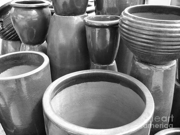 Photograph - Pottery by Jeff Breiman