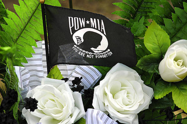 Photograph - Pow-mia by Carolyn Marshall
