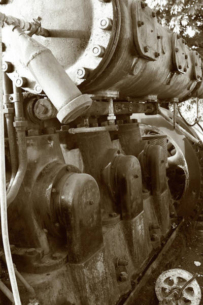 Photograph - Power Engine Wall by Lorraine Devon Wilke