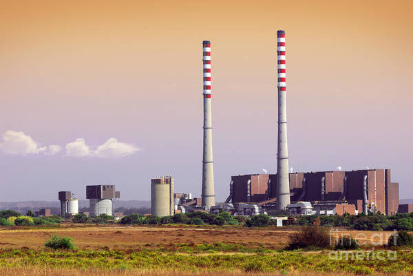 Wall Art - Photograph - Power Plant by Carlos Caetano