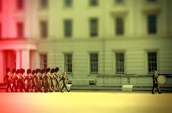 Regiment Wall Art - Photograph - Practice Makes Perfect by Jasna Buncic
