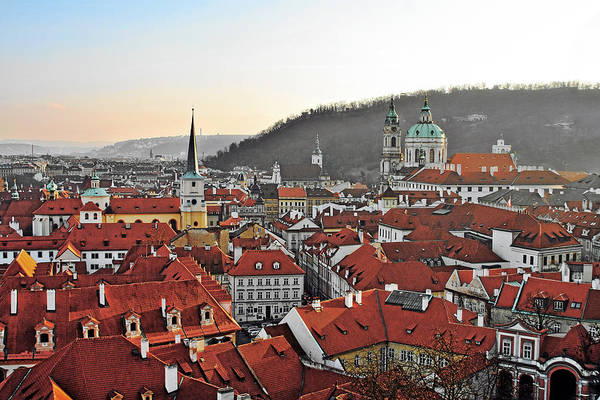 Czechoslovakia Photograph - Prague - A Story Told By Rooftops by Christine Till