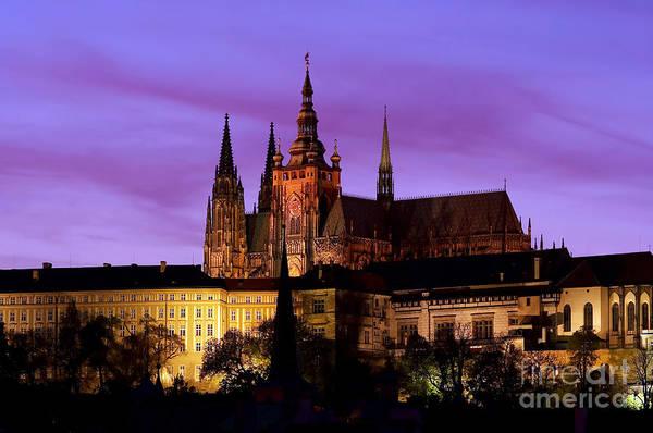 Tourism Wall Art - Photograph - Prague Castle At Evening by Michal Boubin