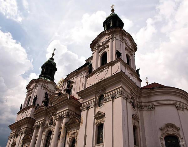 Photograph - Prague Church by Endre Balogh
