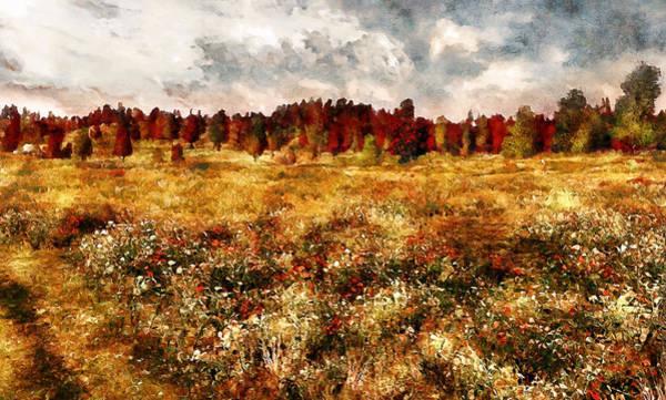 Prairie View Digital Art - Prairie In A Dream by Erica Horsley