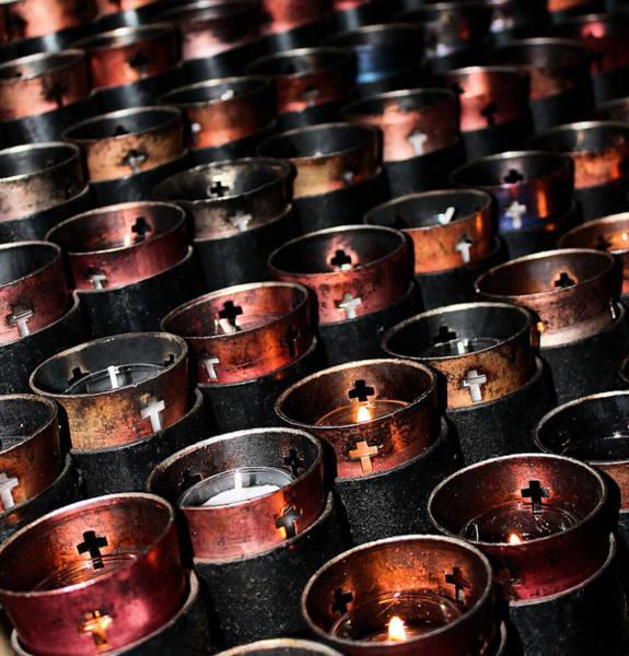 Photograph - Prayer Candles by Sarah Broadmeadow-Thomas