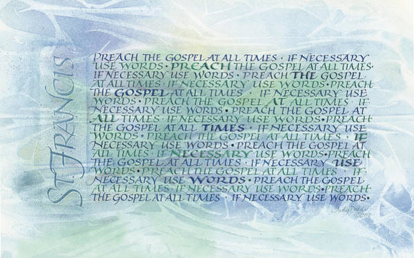 Wall Art - Painting - Preach by Judy Dodds