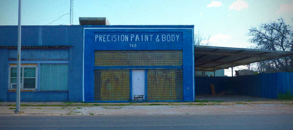 Photograph - Precision Paint And Body by Tim Nyberg