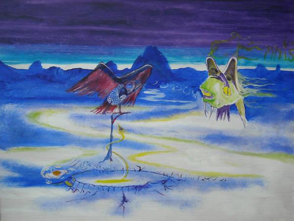 Painting - Predatory Deception by Christophe Ennis