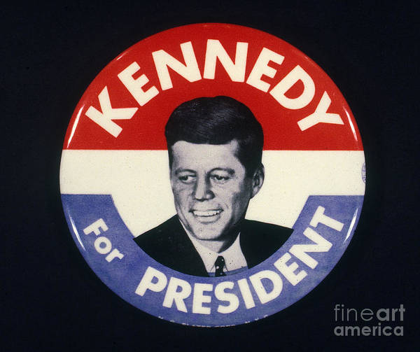 Wall Art - Photograph - Presidential Campaign, 1960 by Granger