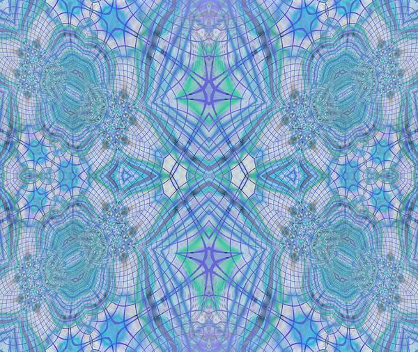 Traditional Home Digital Art - Pretty Blue by Georgiana Romanovna