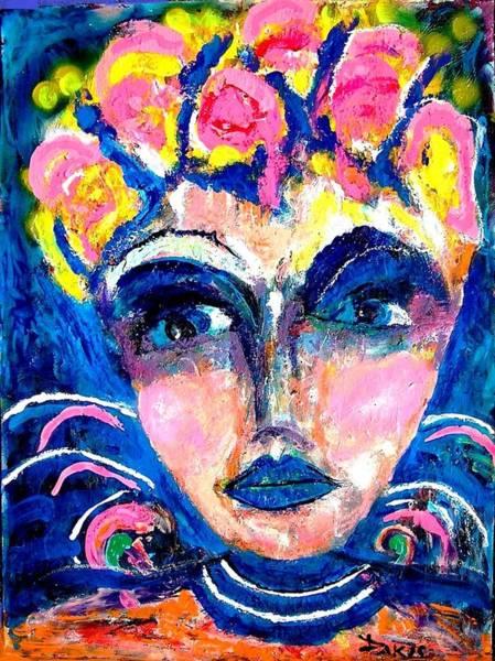 Sax Painting - Pretty Woman by Darlyne Sax