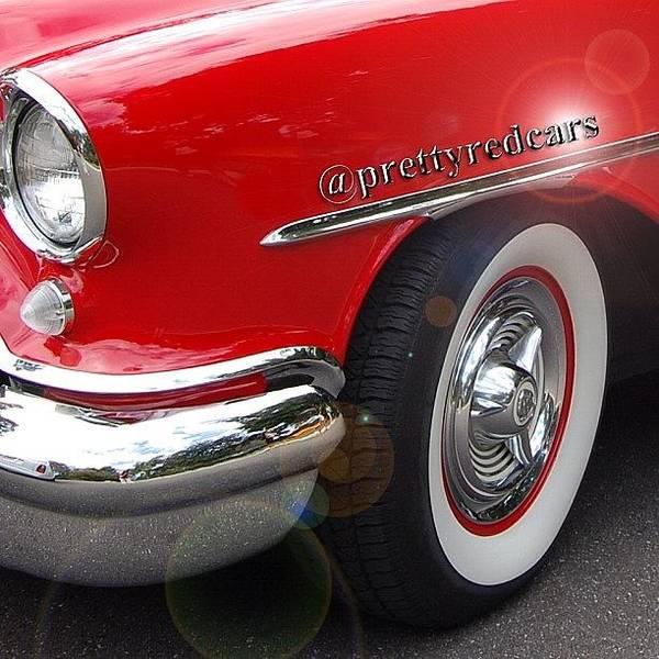Car Photograph - Prettyredcars by Cameron Bentley