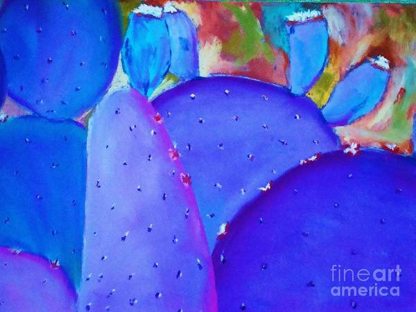 Painting - Prickly Pear by Melinda Etzold