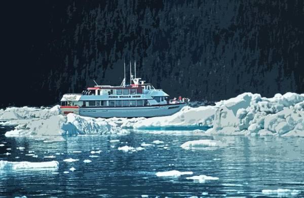 Photograph - Prince William Sound - Alaska by Juergen Weiss