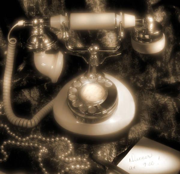 Rotary Photograph - Princess Phone by Mike McGlothlen