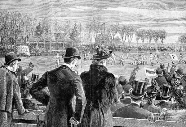 Photograph - Princeton Vs. Yale, 1889 by Granger