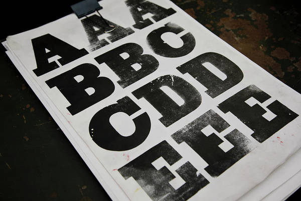 Publication Photograph - Printed Posters by Tobias Titz