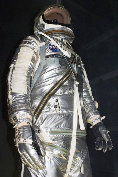 Gus Photograph - Project Mercury Spacesuit by Mark Williamson
