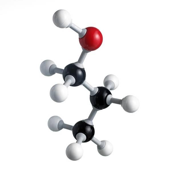 Fuel Element Photograph - Propanol Molecule by