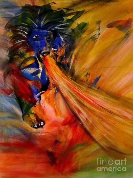 Painting - Prophetic Roar by Deborah Nell