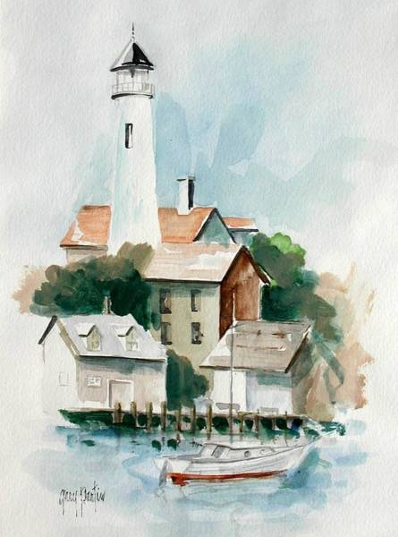 Painting - Provincetown by Gary Partin