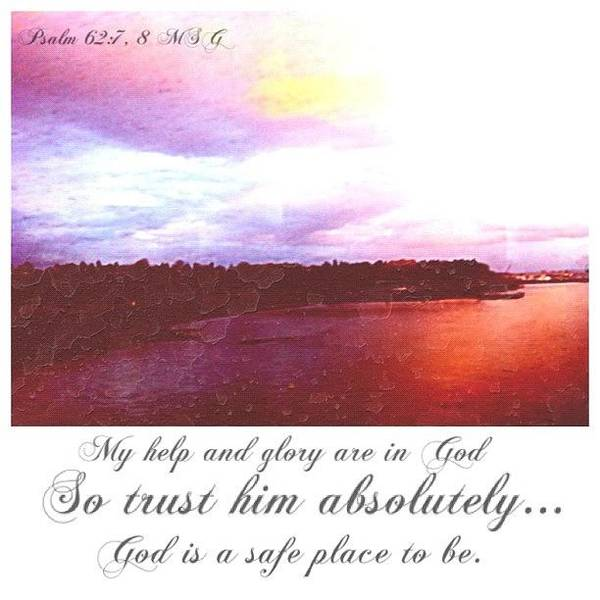 Spiritual Wall Art - Photograph - Psalms And Skies by Esther Filip