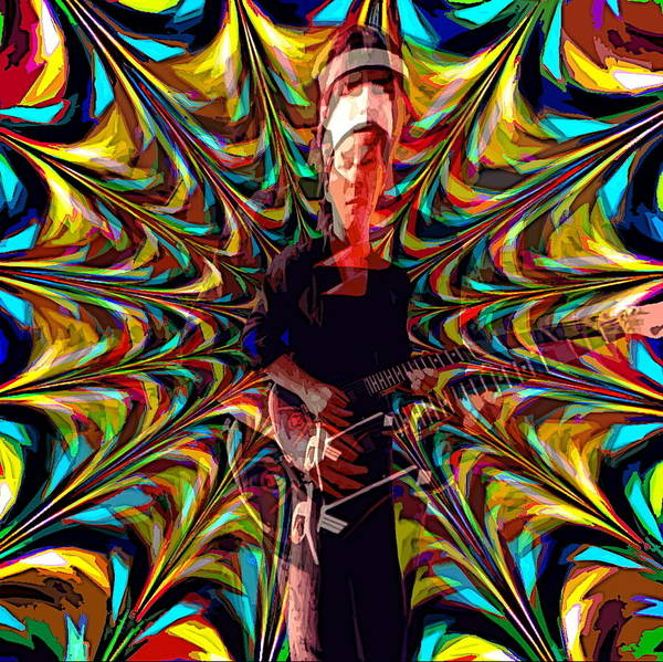 Photograph - Psychedelic Spirit 6 by Ben Upham