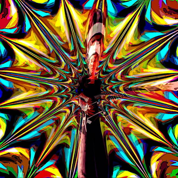 Photograph - Psychedelic Spirit 8 by Ben Upham