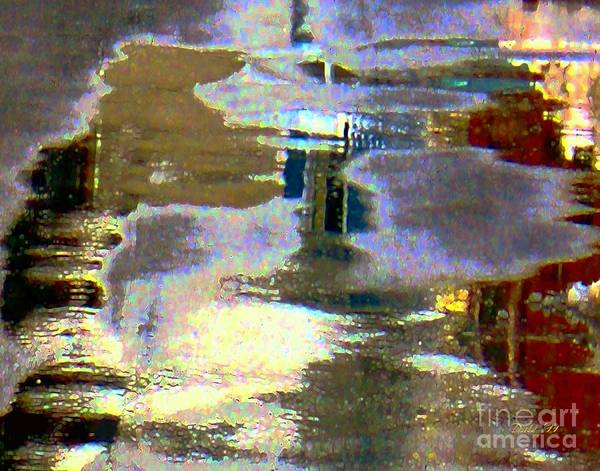 Digital Art - Puddle Art 8 by Dale   Ford