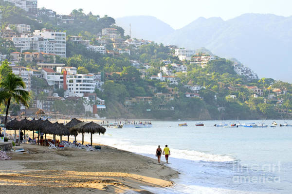 Wall Art - Photograph - Puerto Vallarta Beach by Elena Elisseeva