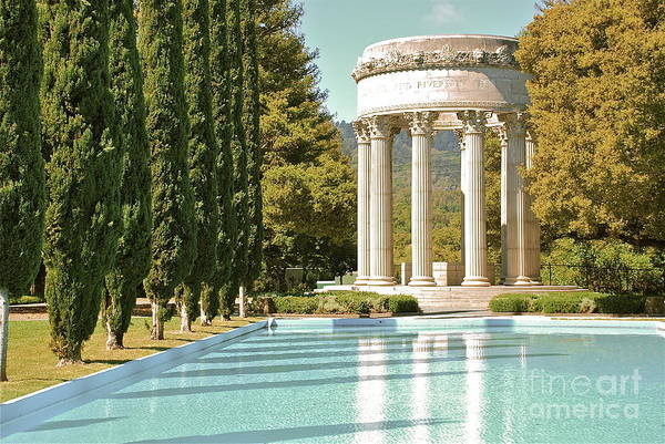 Woodside Photograph - Pulgas Water Temple by Amy Fearn