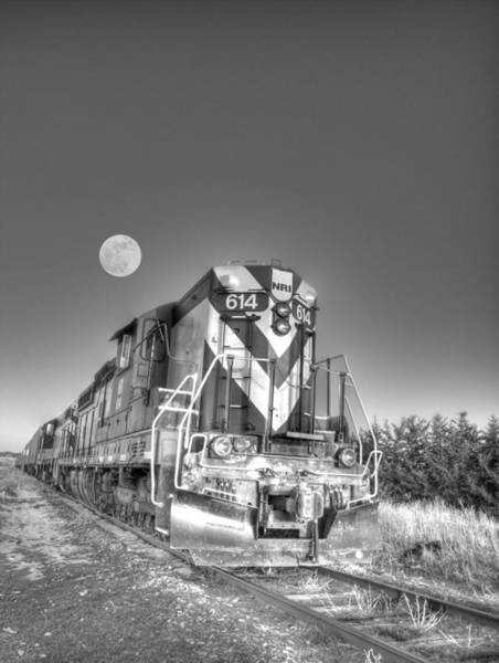 Photograph - Pulling The Moon by HW Kateley